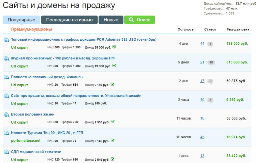 Изображение - Как продать сайт Primery-obyavlenij-po-prodazhe-sajtov-1024x655